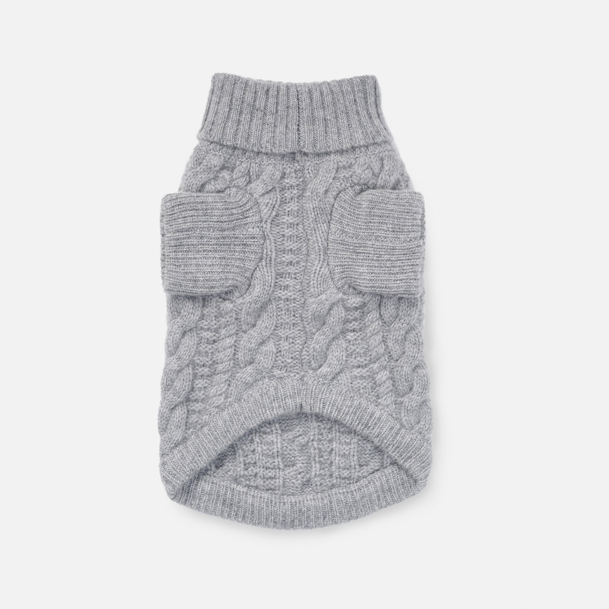 Light Grey Fido Turtleneck