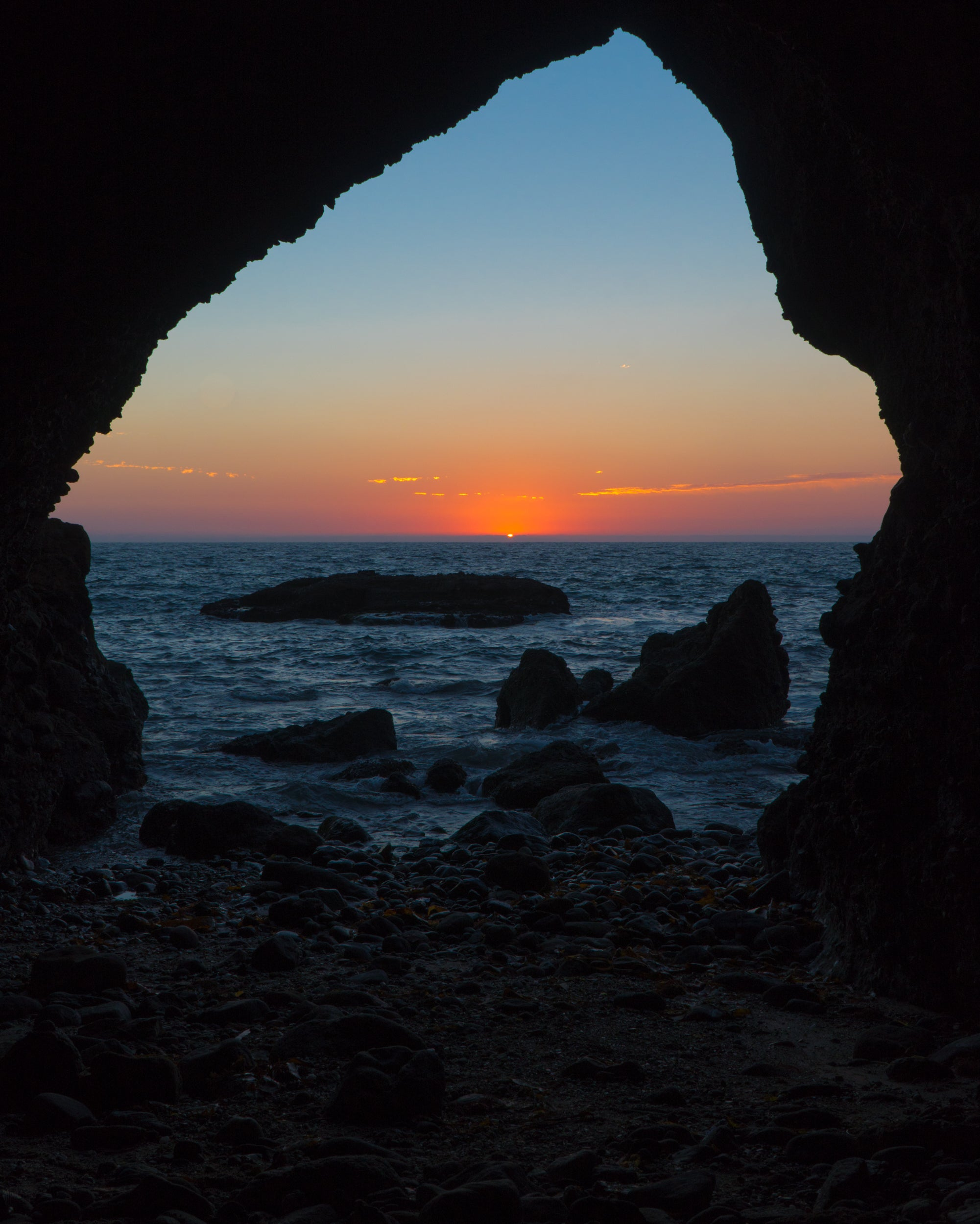 Baby Cave at Sunset
