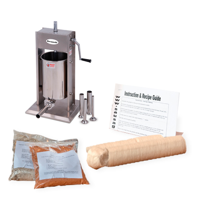 BEST SELLING Sausage Making Kit With Vertical Stuffer