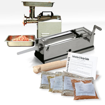Professional Sausage Making Kit With Mincer