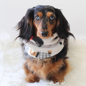 Dachshund Snood Scarf