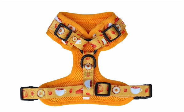 Fall Frenzy Adjustable Dog Harness