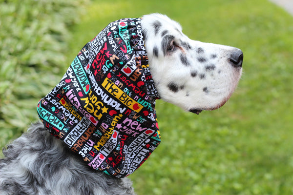 New York Dog Snood