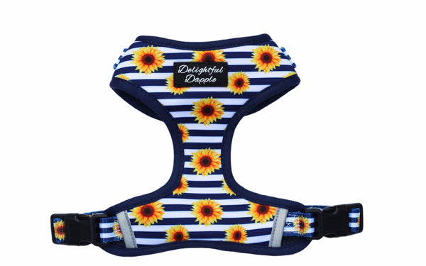 Sunflower Adjustable Dog Harness