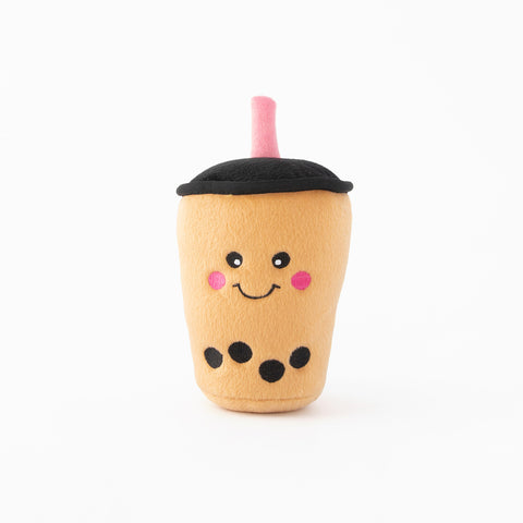 ZippyPaws NomNomz Boba Milk Tea Dog Toy