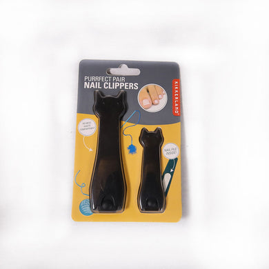 coupe ongles chat noir