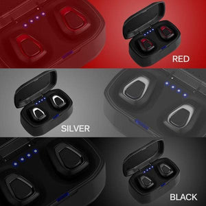 A7-TWS Wireless Earbuds w/ Charging Box Earbuds Trendy out Fiters Black BUY 3 SAVE 65%