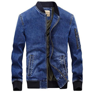 "Trendyoutfiters ""Hesperos"" Denim Jacket Denim Jacket trendyoutfiters Light Blue M"