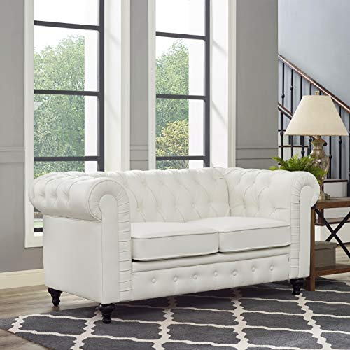 Chesterfield Love Seat & Sofa