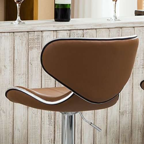 Cushioned Leatherette Barstool ( Set of 2)