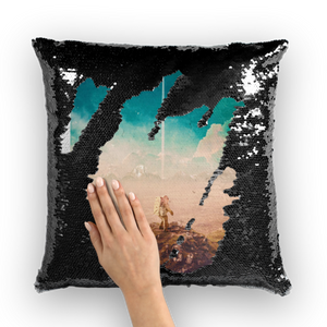 Don't Matter to Me Sequin Cushion Cover