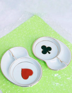 Heart + Spade Mini Ashtrays