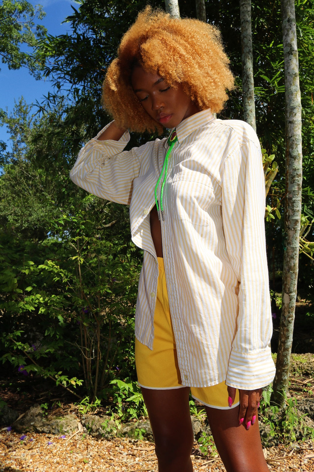 Limon Candy Stripe Blouse