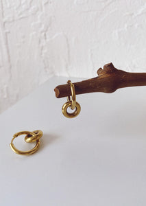 Evet Hoop Earrings - Gold
