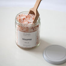 Load image into Gallery viewer, Eucalyptus + Pink Himalayan Bath Salts