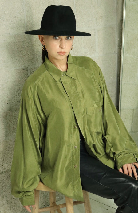 Olea Silk Blouse