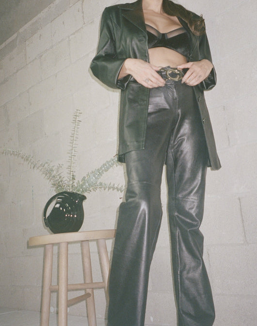Caché Leather Pant