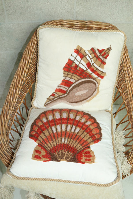 Seashell Pillows