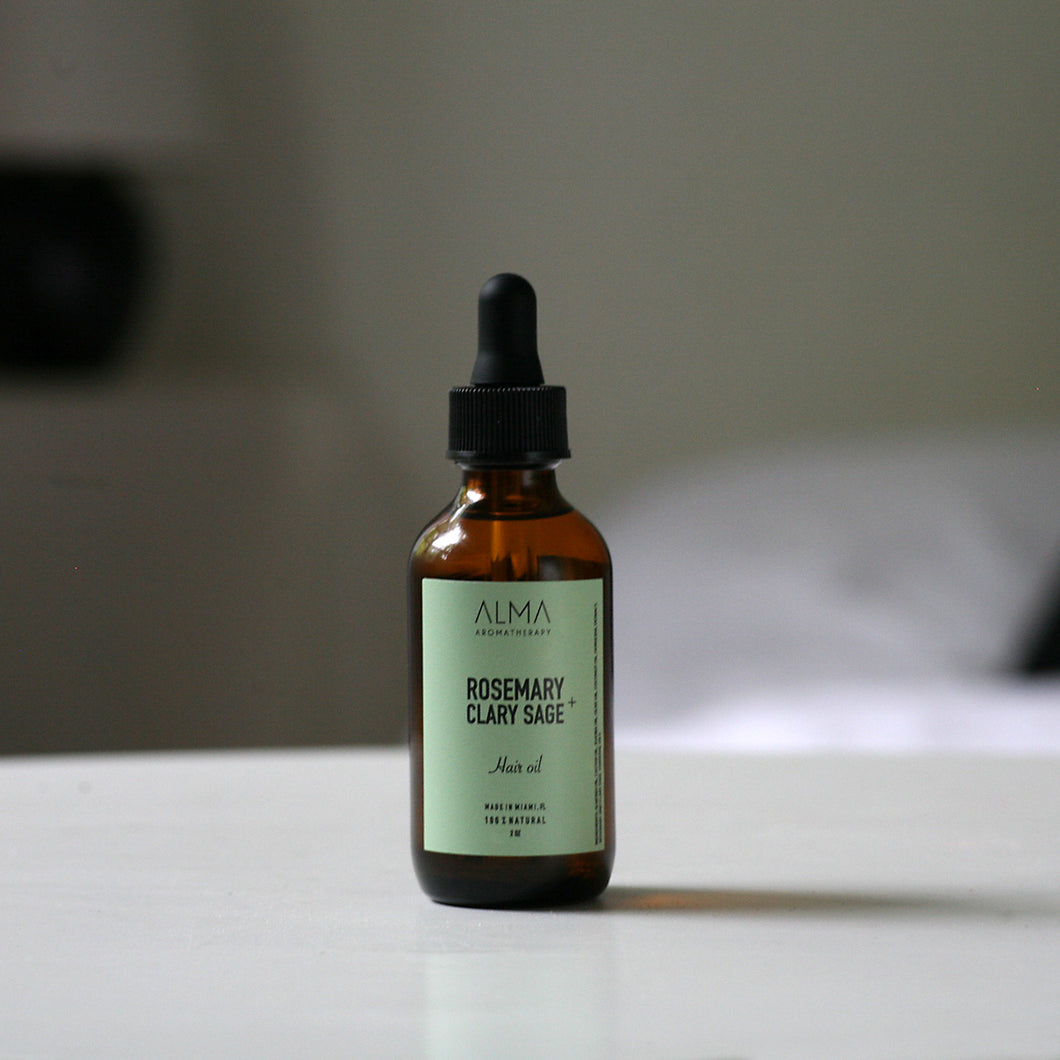 Rosemary + Clary Sage Hair Oil