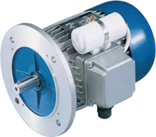 Load image into Gallery viewer, Carpanelli MM80b4 0.75Kw/1 Hp 110/230V/60Hz 1ph AC Metric Motor or Brake motor