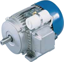 Load image into Gallery viewer, Carpanelli MM71a 0.18Kw/0.25hp 6-pole 110/230V 1ph AC Metric Motor or Brake Motor