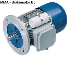 Load image into Gallery viewer, Carpanelli MM71b2 0.56Kw/0.75Hp 2-Pole 1ph AC Metric Motor or Brakemotor