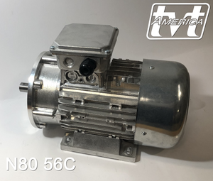 1.5hp 4pole 3ph NEMA 56C AC, Brake, & Vector Motors