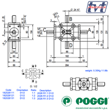 Load image into Gallery viewer, Poggi Bevel Gearbox 2026
