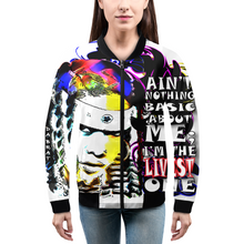 Load image into Gallery viewer, The Livest One Women's Bomber Jacket