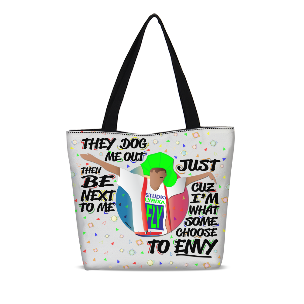 To Envy Canvas Zip Tote