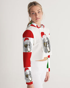 Have a Very Remy Christmas! Women's Cropped Hoodie