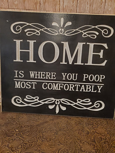 Home is where you poop