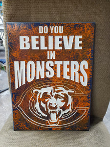 Bears do you believe in monsters