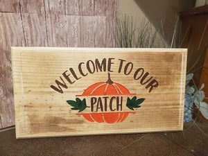Welcome to our patch