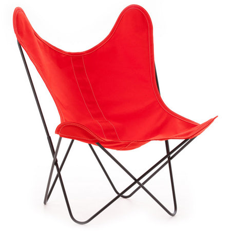 Fauteuil AA Coton rouge