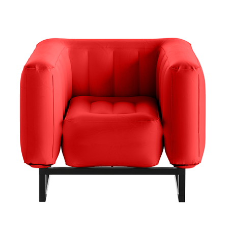 FAUTEUIL YOMI ROUGE