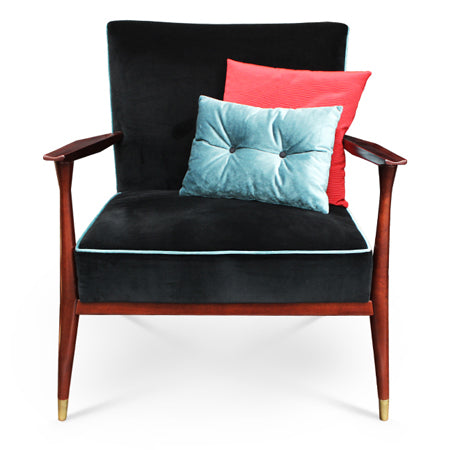 Fauteuil Chicago Velours