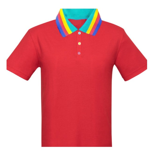 FL B/PARK POLO - RED