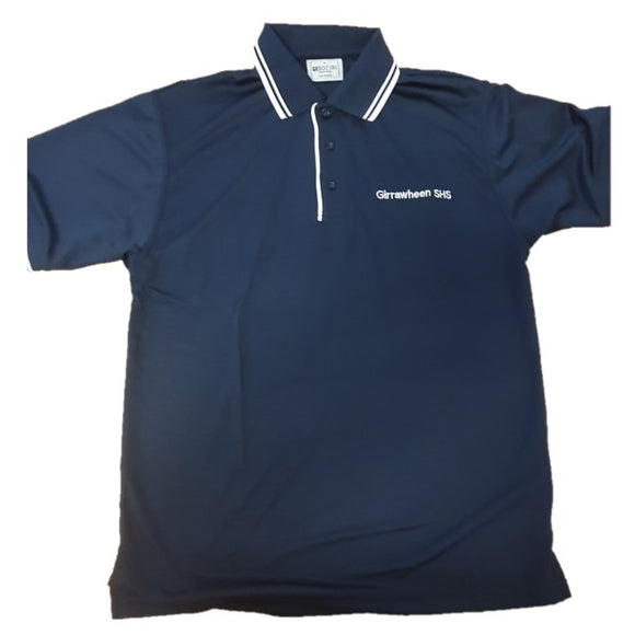 FL G/SHS POLO - NAVY