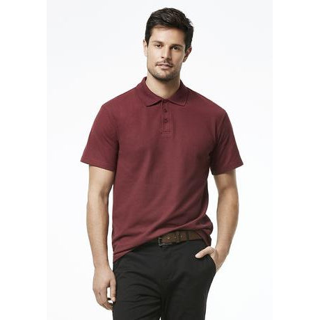 P400MS MENS CREW POLO