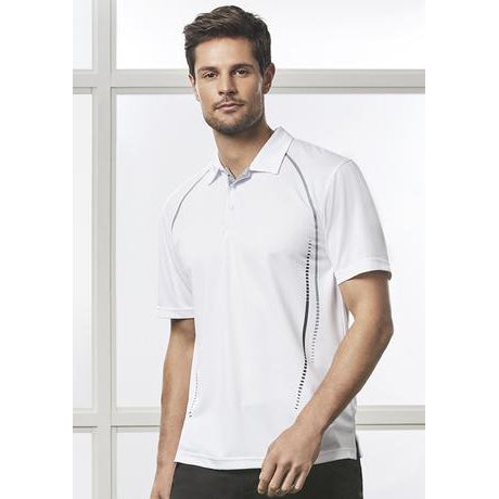 P604MS MENS CYBER POLO