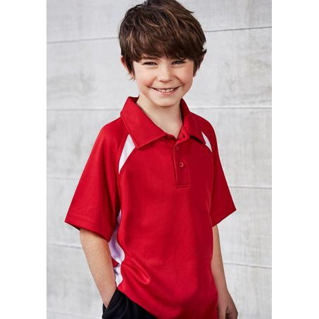 P7700B KIDS SPLICE POLO