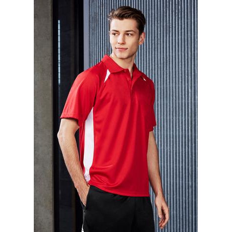 P7700 MENS SPLICE POLO