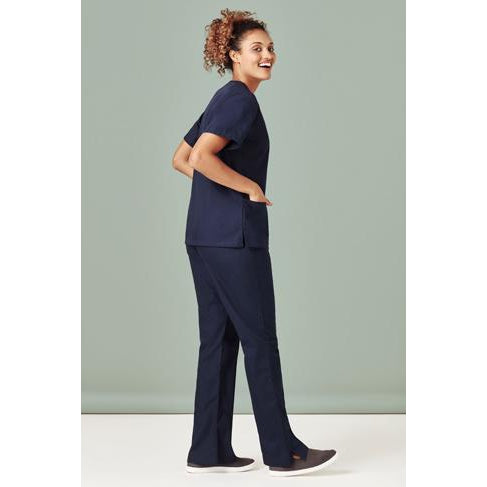 H10620 LADIES CLASSIC SCRUBS BOOTLEG PANTS