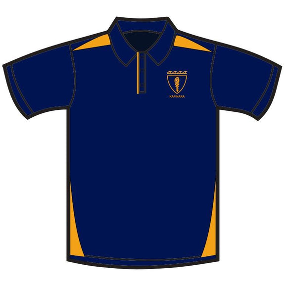 KAPINARA 2020 LEAVERS POLO NAVY/GOLD