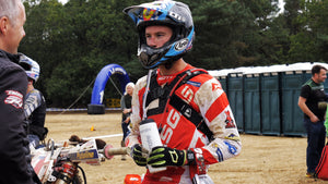 Generate Enduro Team Rider Alex Snow represents Gas Gas UK at the ISDE...