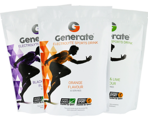 Generate Electrolyte Drink (3 Pouch Deal) - drinkgenerate sports drink