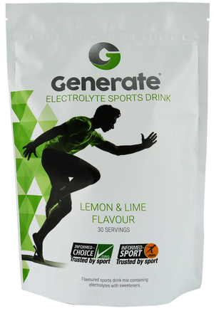 Generate Electrolyte Drink (Lemon & Lime) - drinkgenerate sports drink