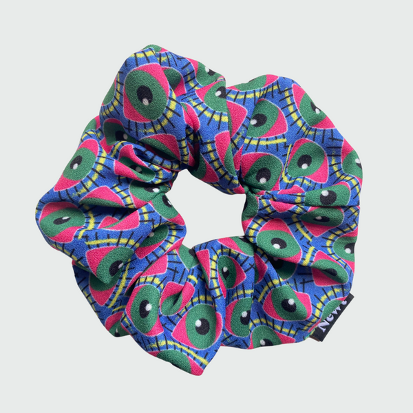 Eye of Newt Print Silky Scrunchie