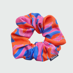 Yammy's Dancer Print Silky Scrunchie